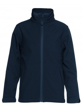 HAWKESDALE COLLEGE-SOFTSHELL JACKET NAVY UNISEX WITH LOGO