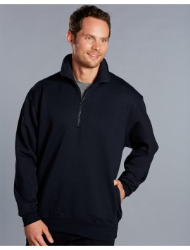 1/2 ZIP FLEECY SWEAT 320GSM