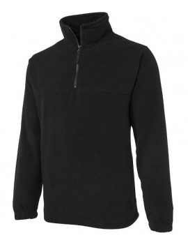 1/2 ZIP POLAR FLEECE BY JB
