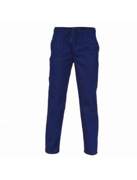 Drill Elastic Waist Pants By DNC