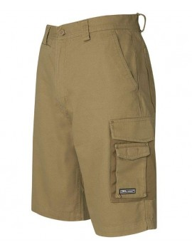 CANVAS CARGO SHORTS BY JB