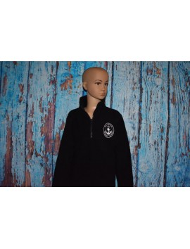 NULLAWARRE PRIMARY SCHOOL  1/2 ZIP POLAR FLEECE UNISEX WITH LOGO