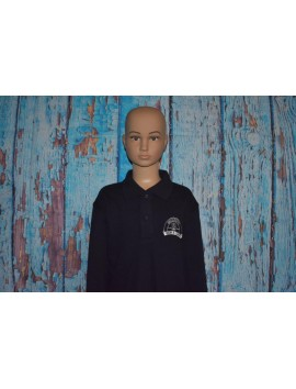 WOODFORD PRIMARY SCHOOL  LONG SLEEVE POLO WITH LOGO